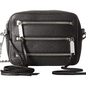 Rebecca Minkoff 4 Zip black Moto camera bag